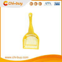 Chi-buy Yellow High Quality Long Handled Cat Litter Scoop Pet Litter Scoop Tool