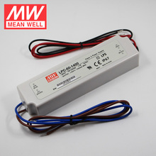 Mean Well LPC-60-1400 1.4A IP67 Slim Power Supply Meanwell Constant Current LED Driver 60W 1400mA