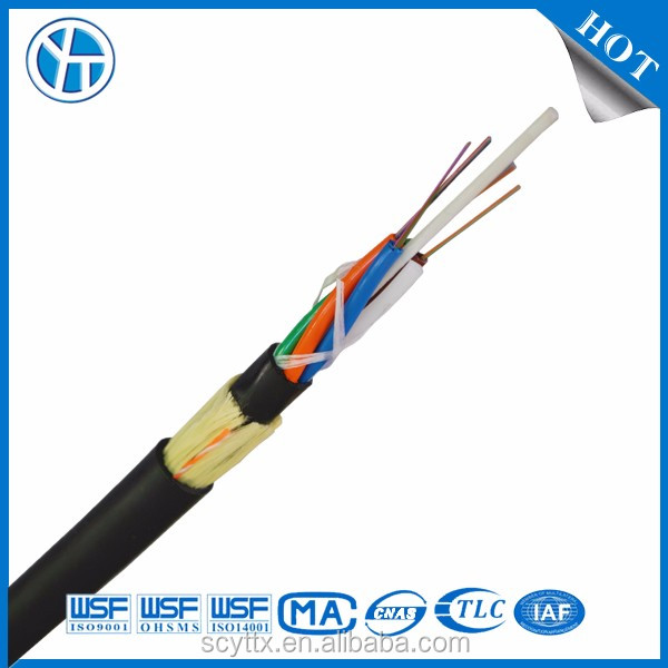 Outdoor Fiber Optic Cable 12 Core Armored ADSS Cable