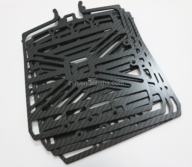 ZYH factory Good quality Carbon Fiber Sheet, Carbon Fiber Plate Manufacturers ,custom cnc parts for rc hobby mini drones