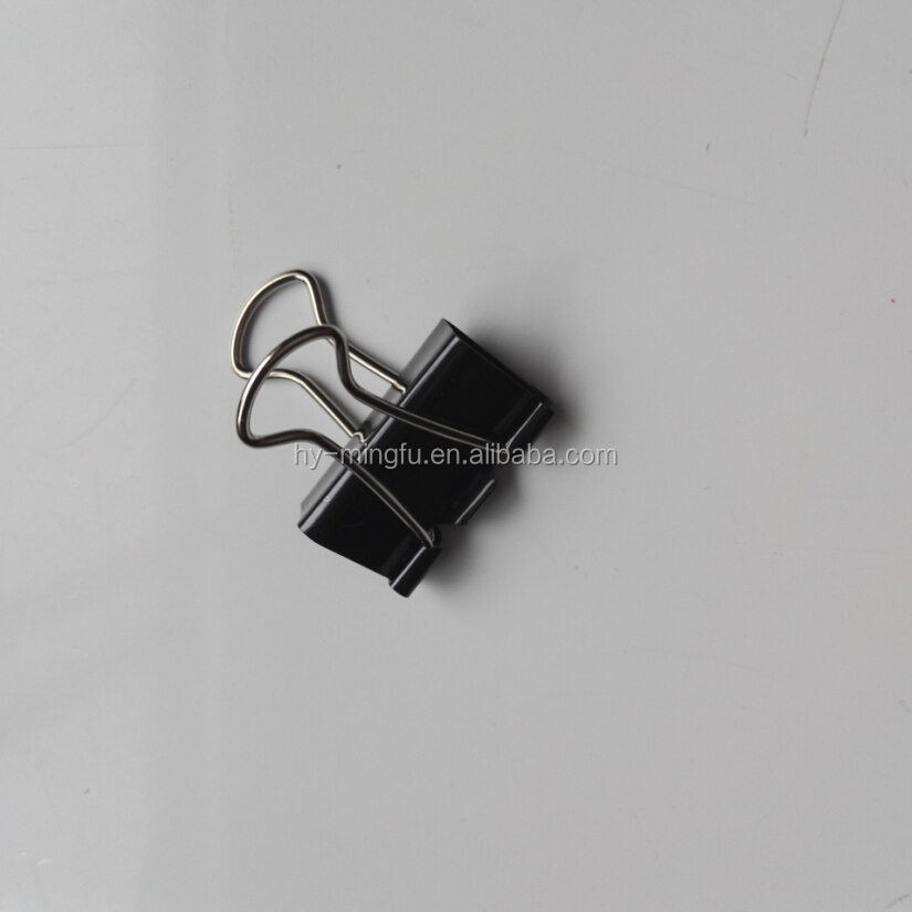 32mm metal black binder clips for office clips