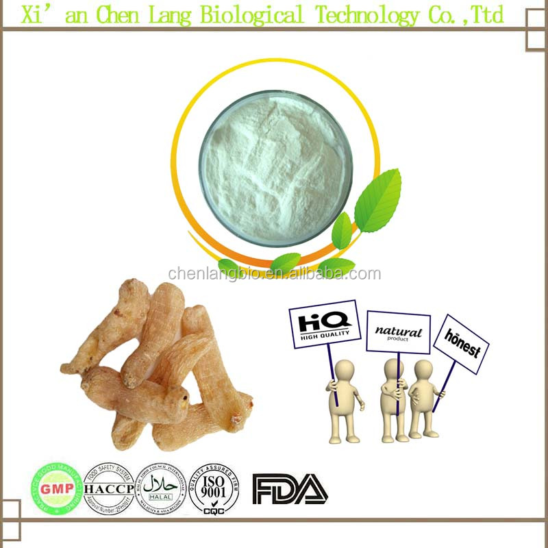Pure Natural White Gastrodin and Brownish Yellow Powder Gastrodia Elata Extract