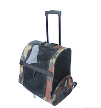 Outdoor Portable Dog Bag Travel Double Draw Bar Box Pet Backpack Carrier