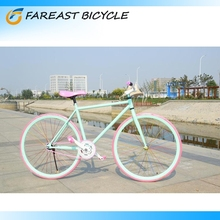 New 700C Single Speed Colourful Rim Fixed Gear Road Bike Bicycle