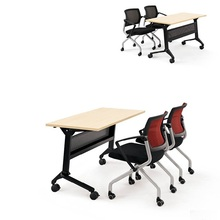 Cheap wholesale wooden economical training table for lecture room teacher desk