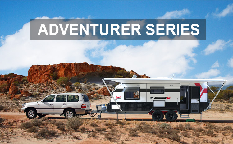 Adventurer Series Designed For Off-road And 4WD Travel Caravans and Motorhomes