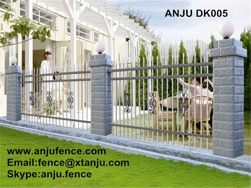 Palisade Fence / Wrought Iron Fence / Models of Gates and steel Fence