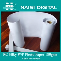 inkjet RC glossy photo paper in roll