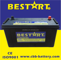 high quality BESTART N100-MF 750cca starting vehicle battery AUTO battery
