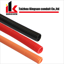 Plastic Electrical Cable Corrugated Flexible Wiring Conduit