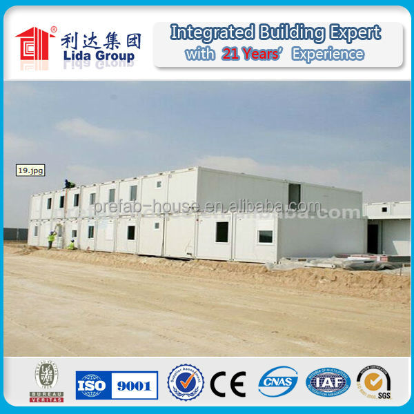 2 floor Morden designed duplex prefabricated Container House/ Office/ Workshop/ Shopping Store