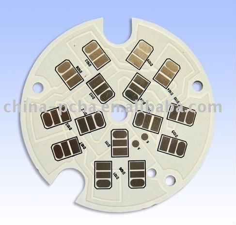 Single side Immersion Gold LED PCB 94v for electronics&electrical components