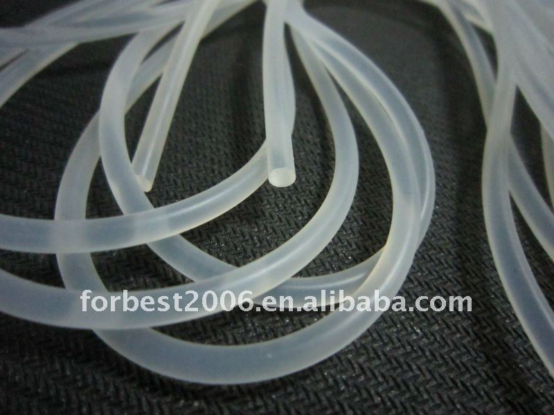 Transparent Silicon rod cord string with good sale