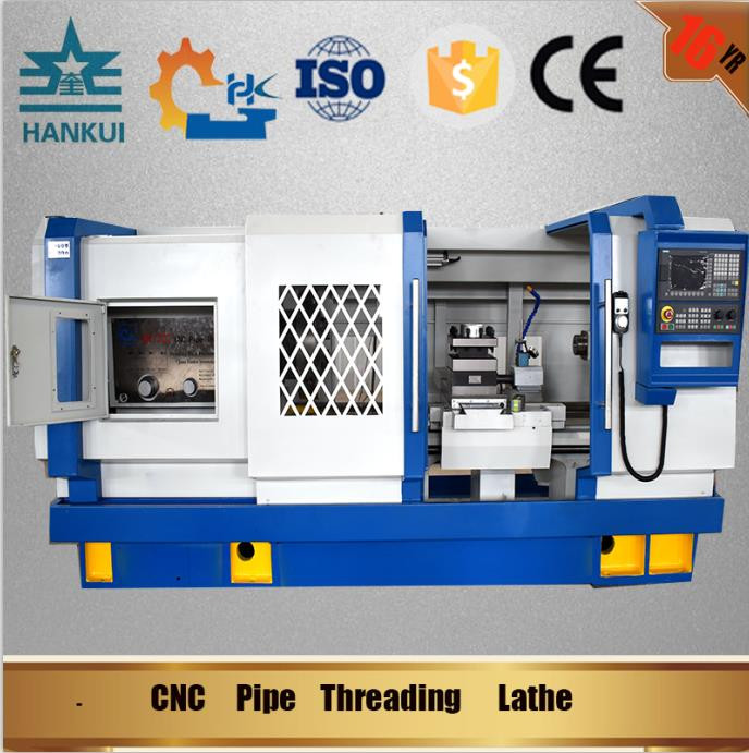 QK1319 China cnc turning machine Pipe Threading Lathe price