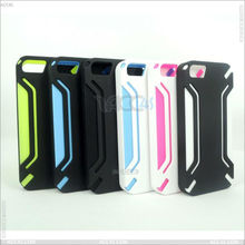Combo Blade Point Pattern Protective Case Cover for iPhne 5 P-IPH5HC023