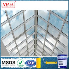 heat transparent insulation glass coating