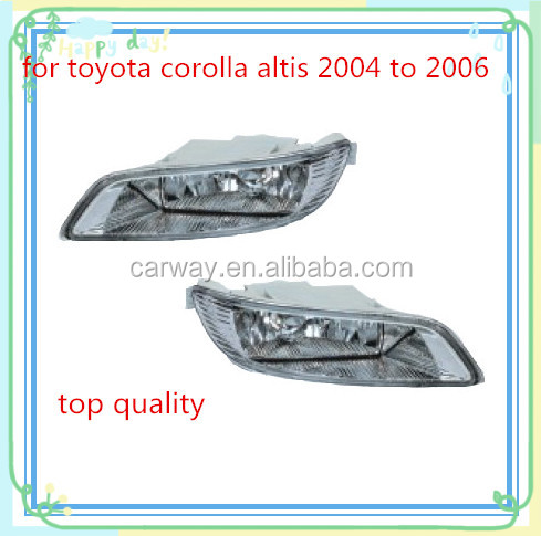 Auto accessories parts for TOYOTA Corolla Altis 2004 to 2006 fog light