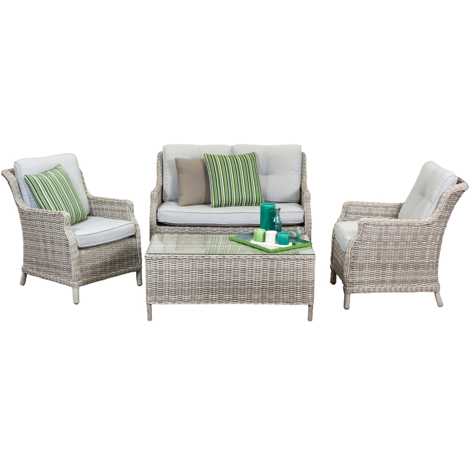 Wholesale Sales Promotion Outdoor Furniture Set Rattan Furniture 4