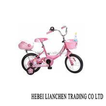 OEM kids bicycle child bike 16inch for sale/good price child bike white tire/high quality bike seat with backrest child bicycle