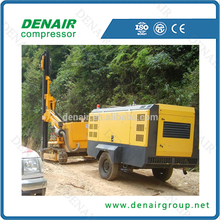 Mining Mobile Air Compressor For Drilling Rig