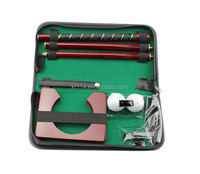 B&G Indoor golf putter trainer leather quality gift box set