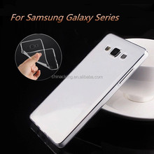 Ultrathin Transparent TPU Soft Cover Case For Samsung Galaxy Grand Prime G530 J1 J5 J7 A3 A5 A7 E5 E7 S3 S4 S5 S6 S7