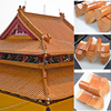 ML-001 305X305mm Chinese prepainted corrugated color concrete roof tile