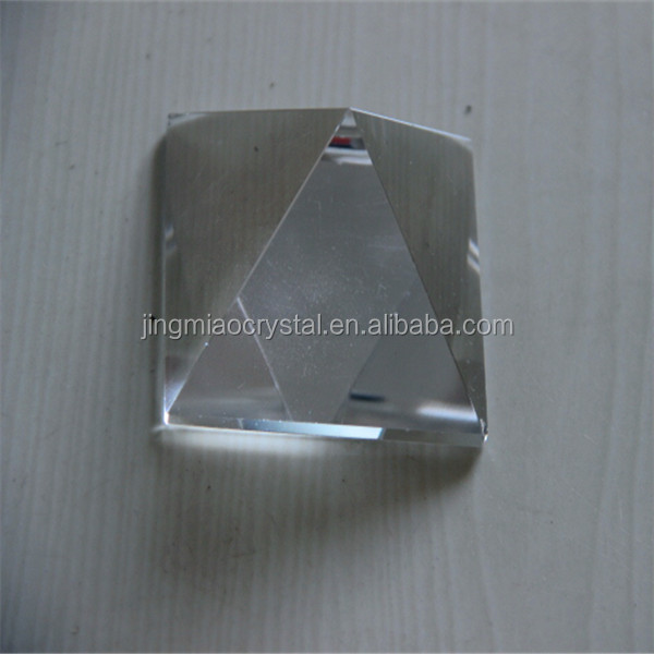 hot new products natural Himalayan clear crystal pyramids for gifts item
