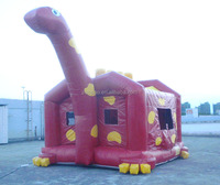 bouncy castle inflatable dinosaure, funny party inflatable bouncers