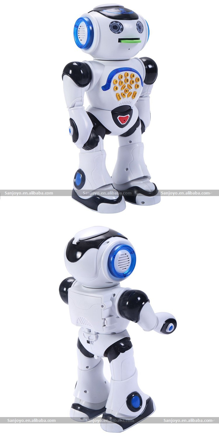 JXD 1018I rc robot 2.4G Infrared Smart rc robot with EVA Shooting. Dancing, Sing, Story, Question, Telecontrol, Game, Feeding.