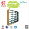 SJ-021double side metal magazines and newspapers shelf
