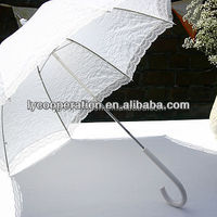 Ruffle Wedding Umbrella