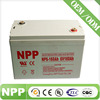 6v160ah maintainence free UPS battery for power supply