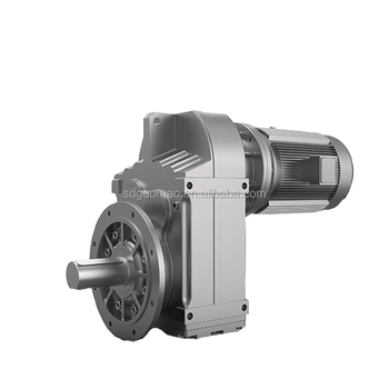 Splined hollow shaft gear reducer