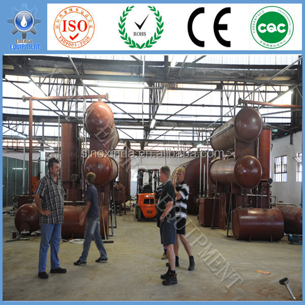 Discount Sales promotion upmarket Xinda Brand Best quality waste tire pyrolisis plant to oil and carbon black with CE,ISO