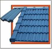 Color Ceramic Roof Tiles