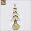 Vintage table top trees in Paper Mache for Christmas decorations