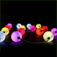 Outdoor waterproof 50mm led ball light strings