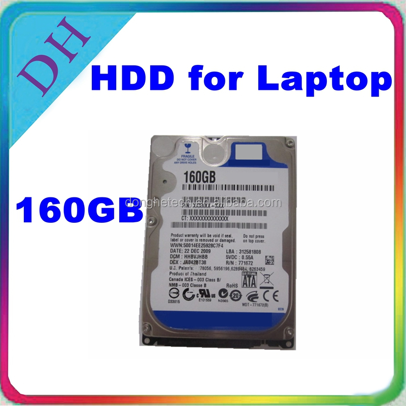HDD - refurbished 2.5 sata hard drive from 160gb to 1TB 5400rpm 8MB