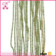 123 New selling simple design rhinestone banding cup chain with good prices