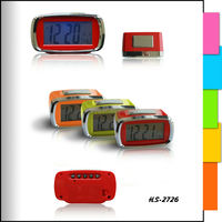 Plastic Digital Multifunction LCD Calendar Temperature Clock