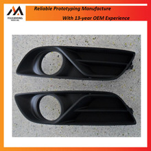 High quality plastic car parts light cover abs injection molding