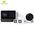 2017 high quality Wireless WIFI/GPRS home security system support CID function smart home alarm system