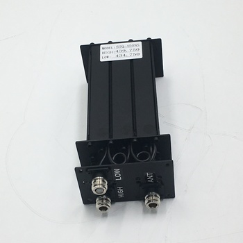 VHF Duplexer 2*3 Cavity Notch Filter for Mobile Radio Repeater