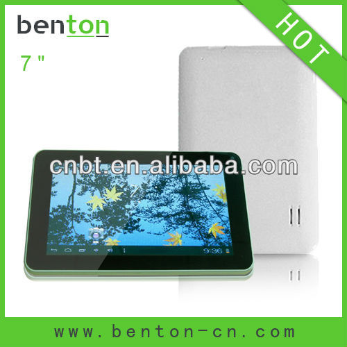 Nes style 7 inch tablet pc flash player with high quality