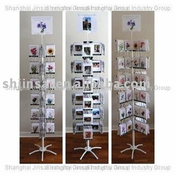 Hot Sale On Alibaba Multi Use Spinner Rack for Dispalying Book