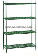 Adjustable 4 Tiers Metal Greenhouse Plant Wire Shelf With NSF Approval