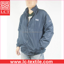 China clothing manufacturer wholesale windproof 190T polyester mechanic us navy work jacket with your own brand print(LCTU0066)