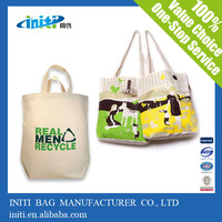 Eco reusable 600d polyester canvas tote bag