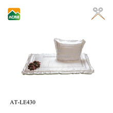 AT-LE430 funeral best price coffin padding decoration